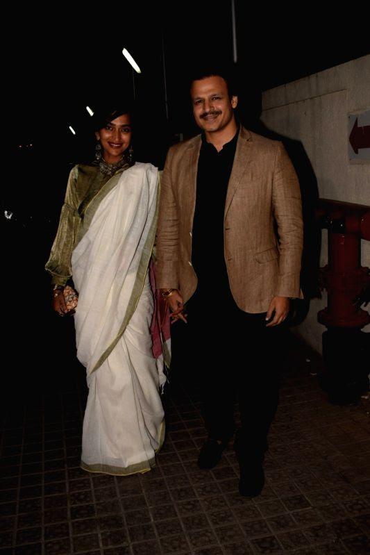 "Special screening of film ""Padmaavat"" - Vivek Oberoi and ..."