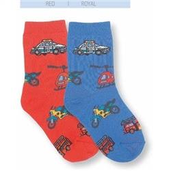 Jefferies Emergency Kids Socks for Boys - 1 Pair