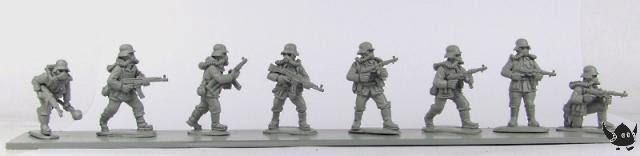 28mm Jurassic Reich German Infantry