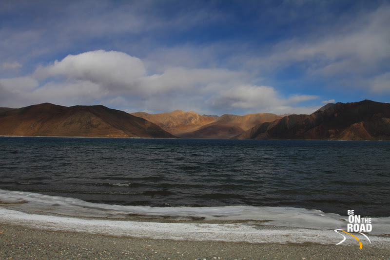 Pangong Tso - The high altitude salt water lake