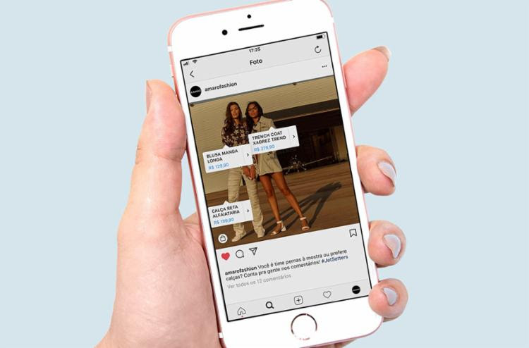 Atualização do Instagram passou a apresentar postagens na horizontal - Foto: Divulgação