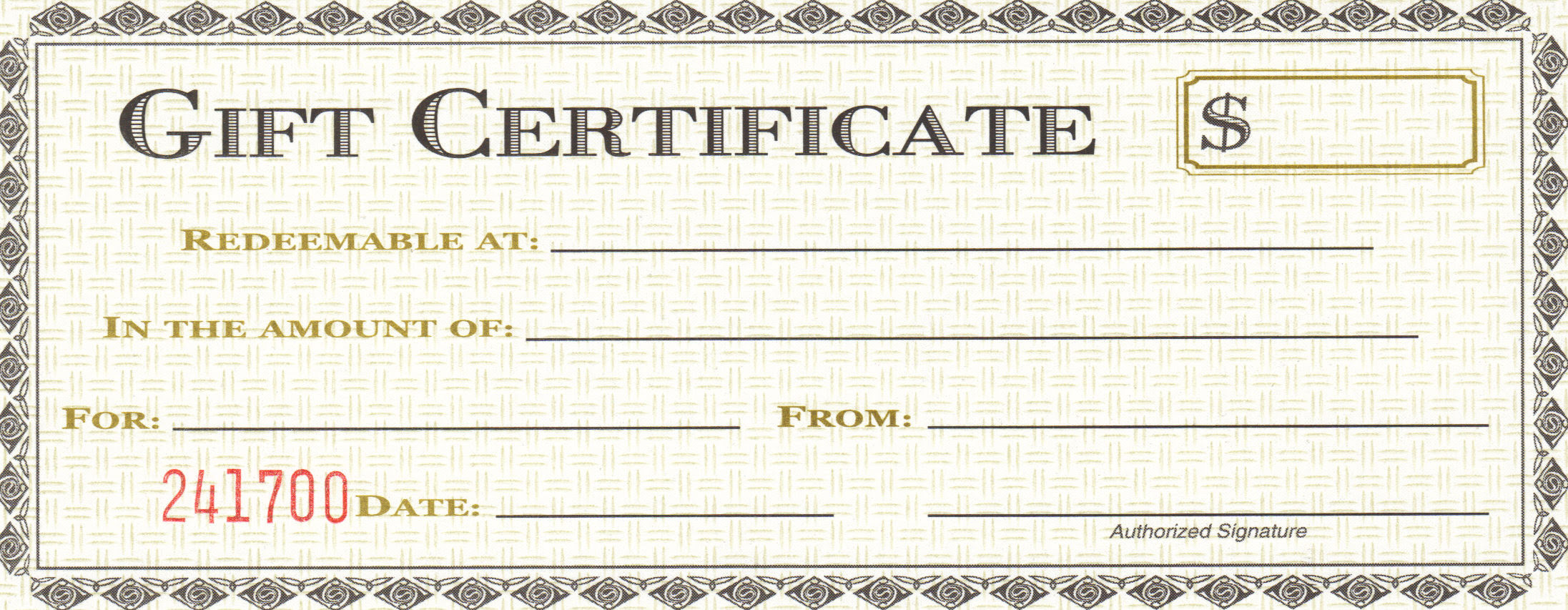 28 Cool Printable Gift Certificates – Kitty Baby Love