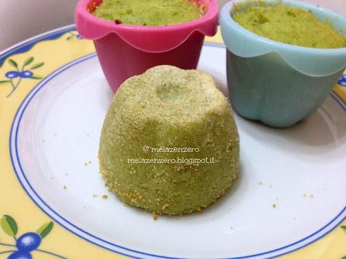 Sformatini di broccoletti e mozzarella
