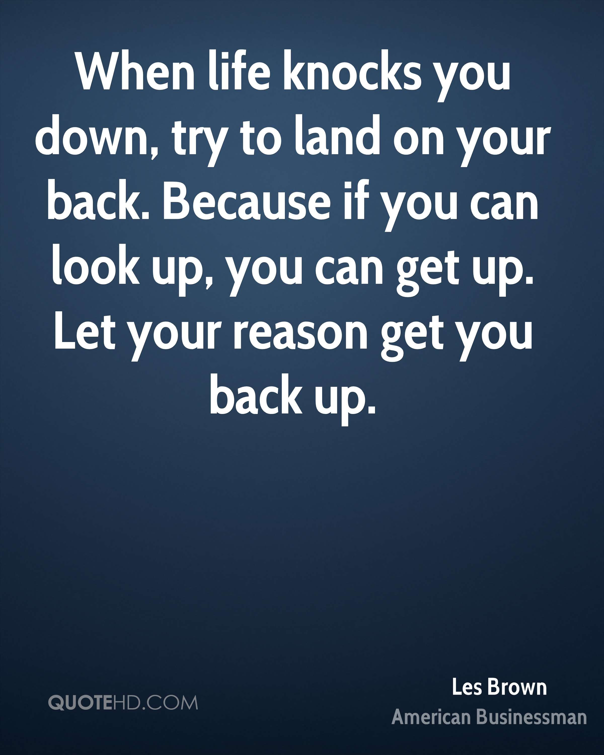 Les Brown Life Quotes Quotehd