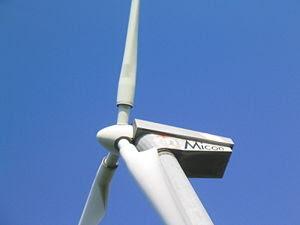 Micon wind turbine, Dithmarschen.