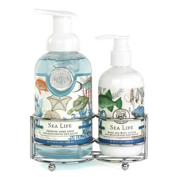 Michel Design Works Handcare Caddy Sea Life