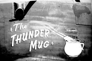 "PICI FIELD - 1944 - B24H 41-28750 ""The Thunder Mug"" 789th B.S."