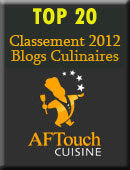 top 20 blog culinaires