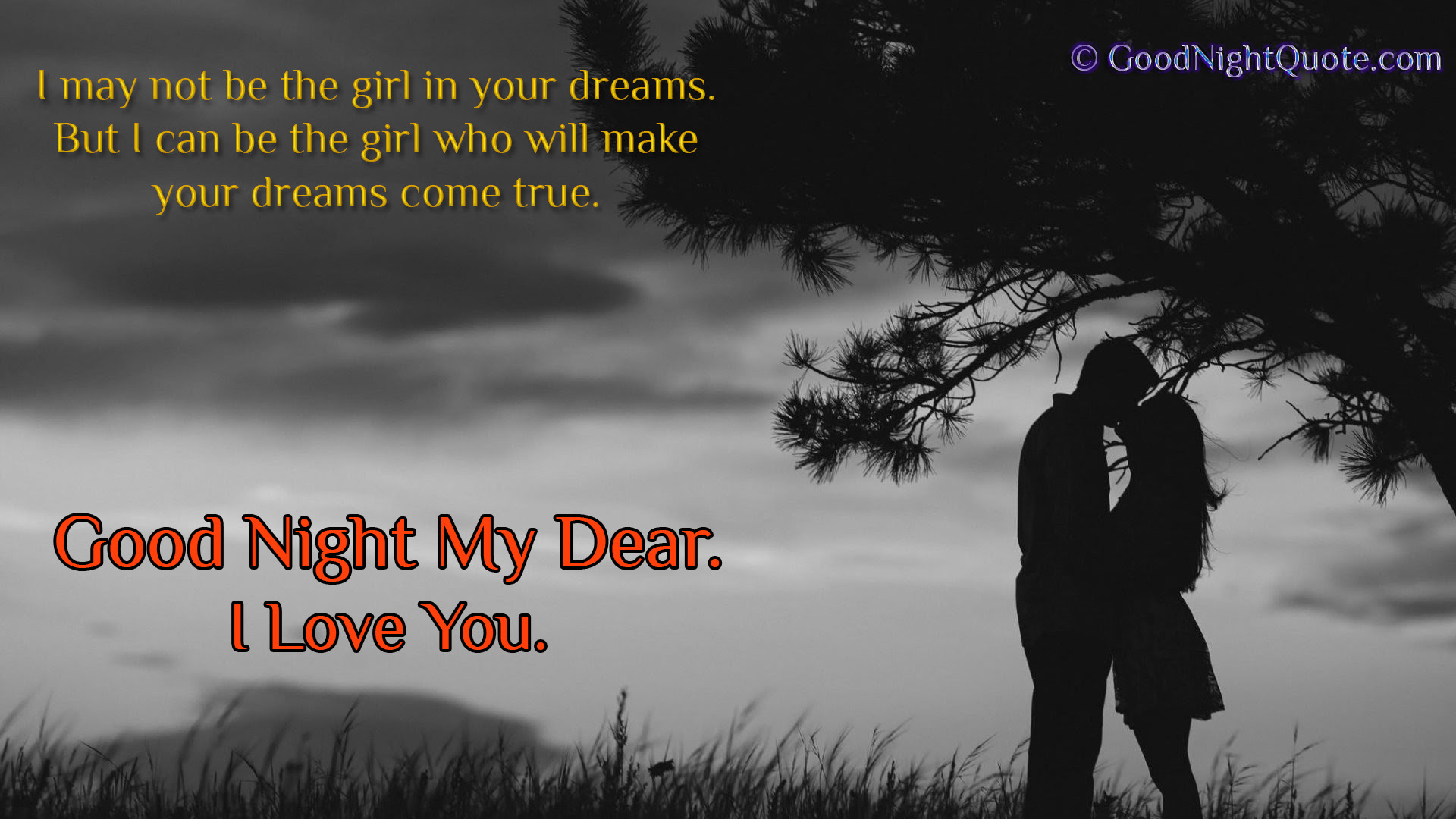 Cute And Romantic I Love You Good Night Images Wallpapers For