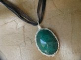 Pendente in Smeraldo naturale - Cod 205