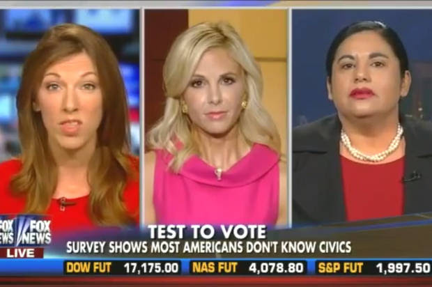 "Seriously, ""Fox & Friends""? Elisabeth Hasselbeck endorses disturbing anti-voting scheme"