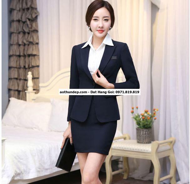 các mẫu đồng phục công sở nữ đẹp