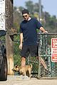 robert pattinson gets in some exercise at the dog park 03