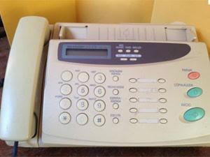 Aparelho de fax (Foto: reprodução)