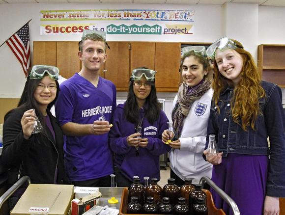 Glendale Hoover High Science Bowl team