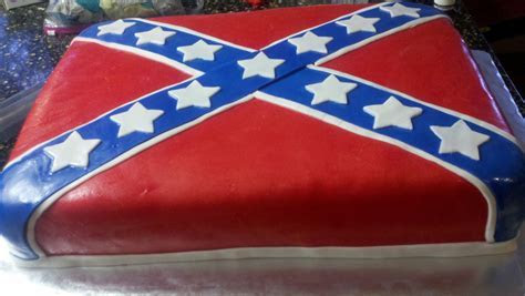 Rebel Flag   Birthday Cake   Cake Decorating Community