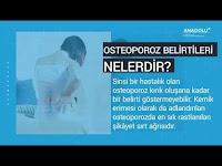 Osteoporoz nedir? Nasıl tedavi edilir? - Anadolu Sağlık Merkezi