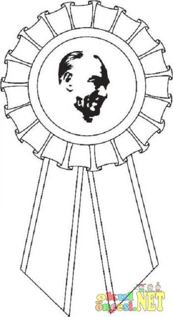 10 Kasım Atatürk Boyama Gazetesujin