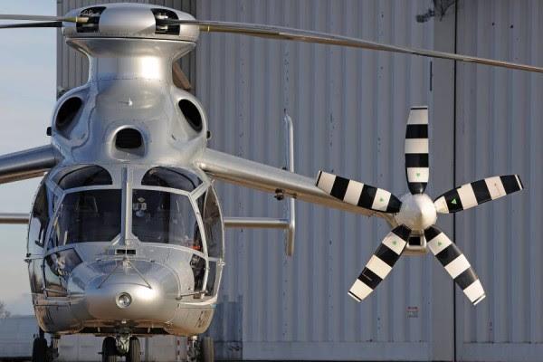 Detalles del helicóptero Eurocopter X3. (Fotos: Eurocopter)