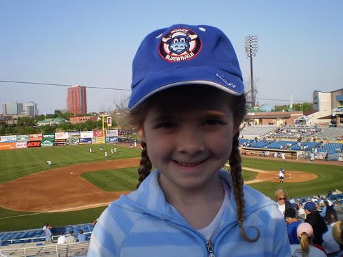 A baseball fan is born