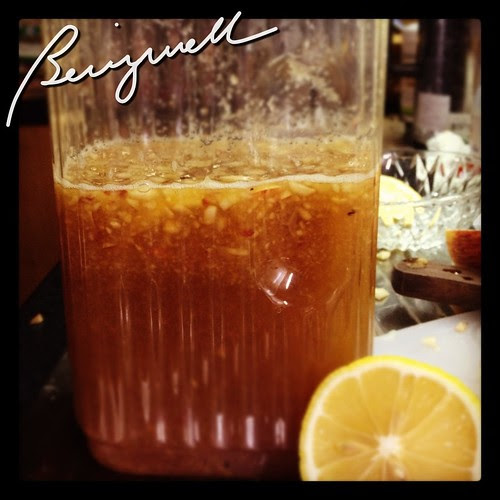 Brewing Lemon Iced Tea