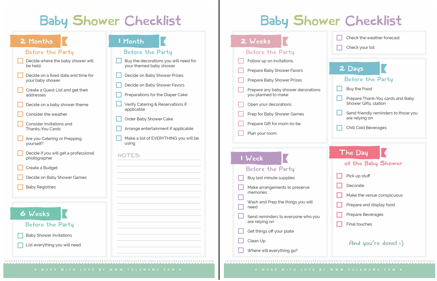 Baby Shower List To Do Baby Viewer