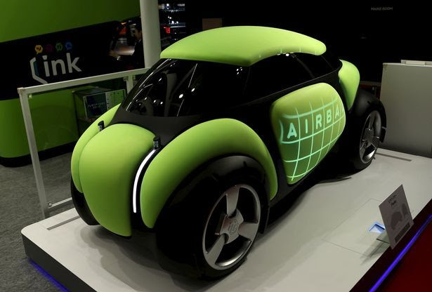 World's First Dent-Proof Car Wows Crowds At Tokyo Motor Show