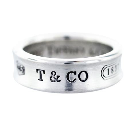 tiffany   sterling silver  wedding band boca raton