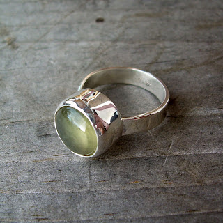 prehnite ring recycled