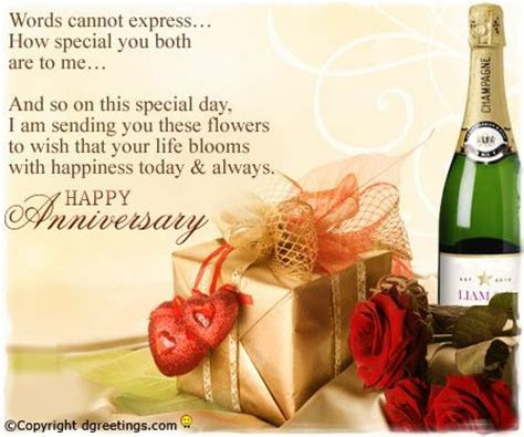 Dgreetings .. Happy Anniversary Daughter and Son in Law