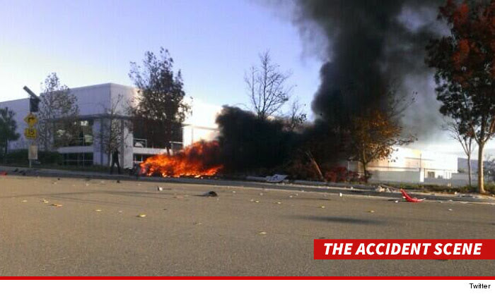Paul Walker accident scene