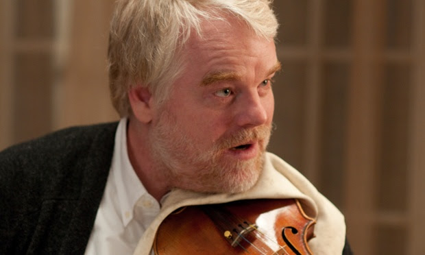 Hoffman in the film A Late Quartet (2012)