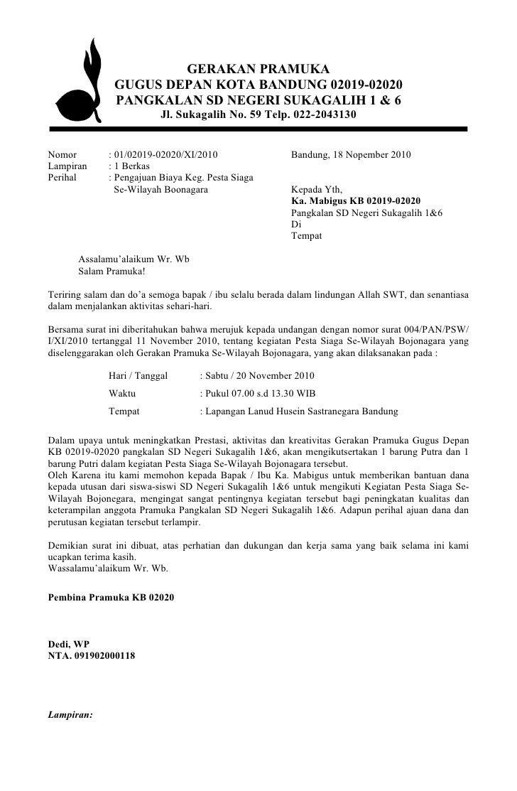 contoh surat edaran rapat surat 0
