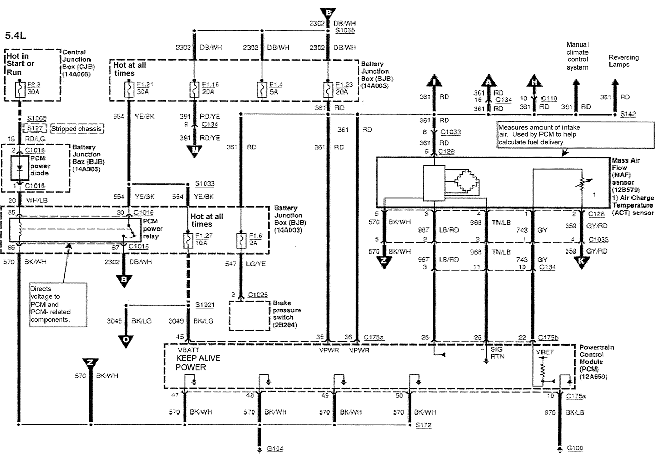 34 Ford E350 Wiring Diagram - Wire Diagram Source Information