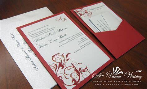 Red Wedding invitations ? A Vibrant Wedding