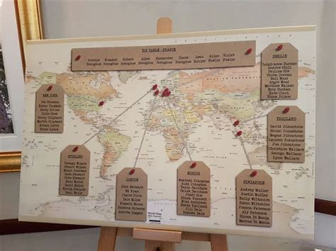 seating plan wedding ideas norwood hall aberdeen Picture