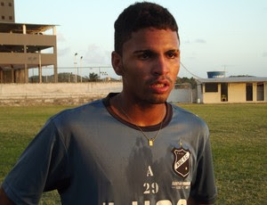Romarinho é um dos destaques do ABC para a Copa São Paulo (Foto: Tiago Menezes/GLOBOESPORTE.COM)