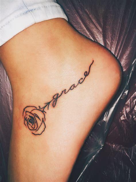 rose tattoo foot tattoos foot tattoos girls trendy tattoos