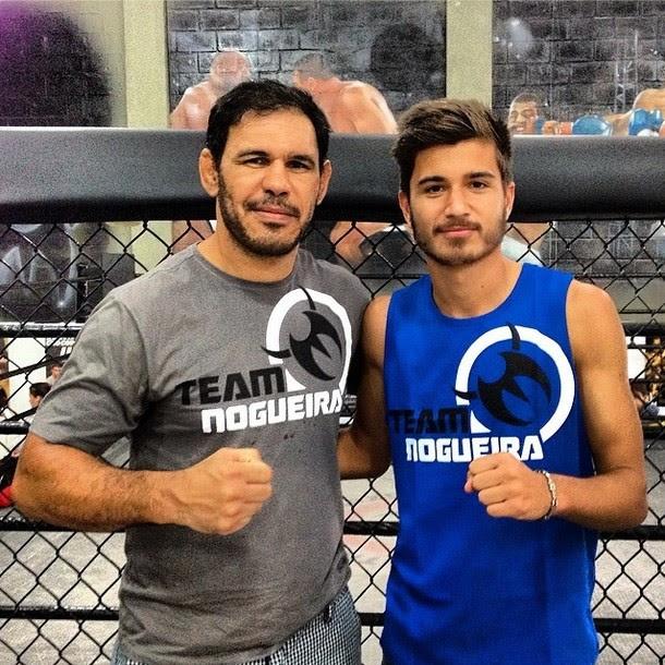 Rogério Minotouro e Mattheus Oliveira (Foto: Reprodução / Instagram Team Nogueira)