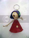 Gantungan  kunci Putri Tani 1