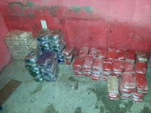 PF faz a maior apreensão de cocaína neste ano; 191 kg foram apreendidos (Foto: Divulgação)