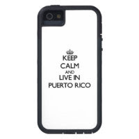 Keep Calm and Live In Puerto Rico iPhone 5 Covers