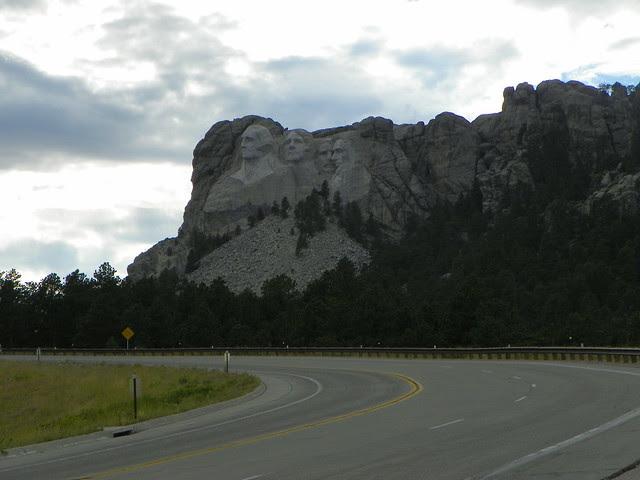 around Mount Rushmore, South Dakota