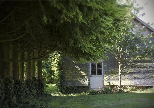 Fire-wood barn
