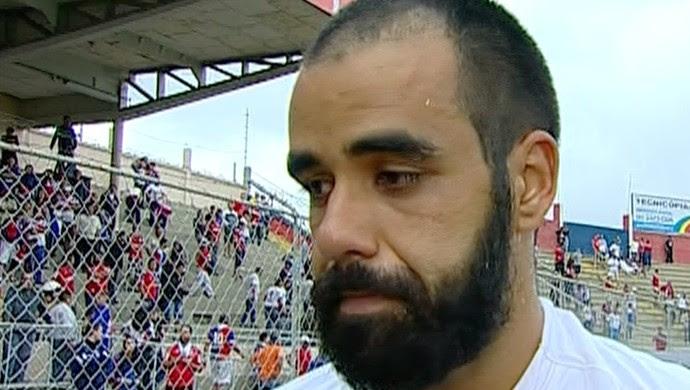 Daniel Costa, meia do América-RN (Foto: Reprodução/Inter TV Cabugi)
