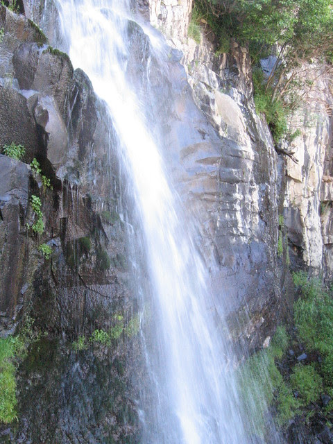 Waterfall, DeGarmo Canyon