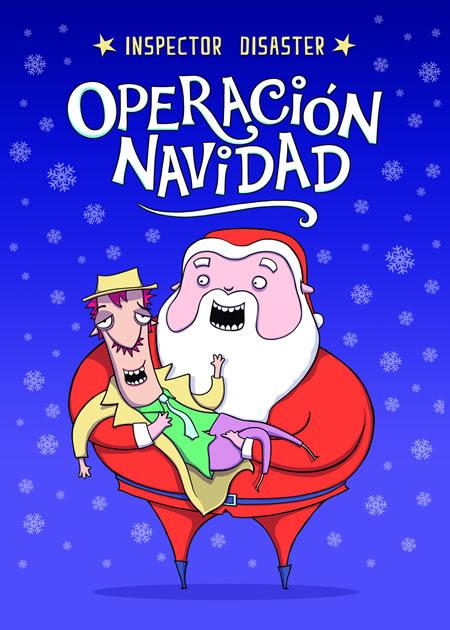 Portada del libro Operación Navidad, de Carmen Fernández