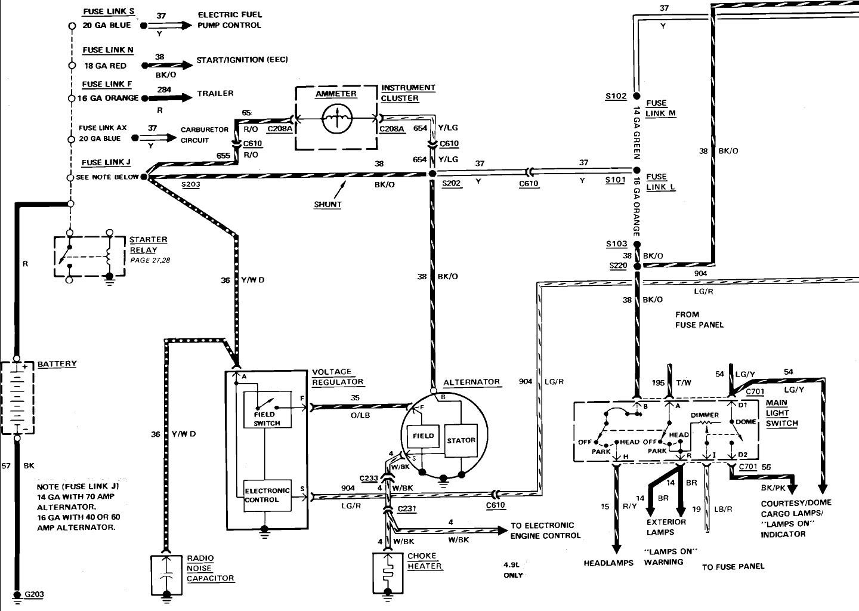 Ford F 250 Alternator Wiring - Wiring Diagram   1990 Ford F 250 Alternator Wiring Diagram      cars-trucks24.blogspot.com