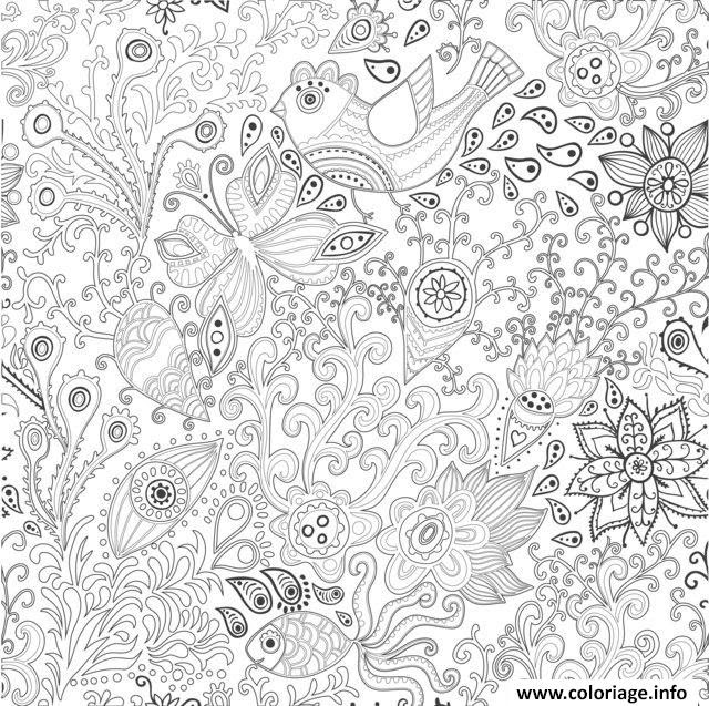 Coloriage Antistress Animaux Jecoloriecom
