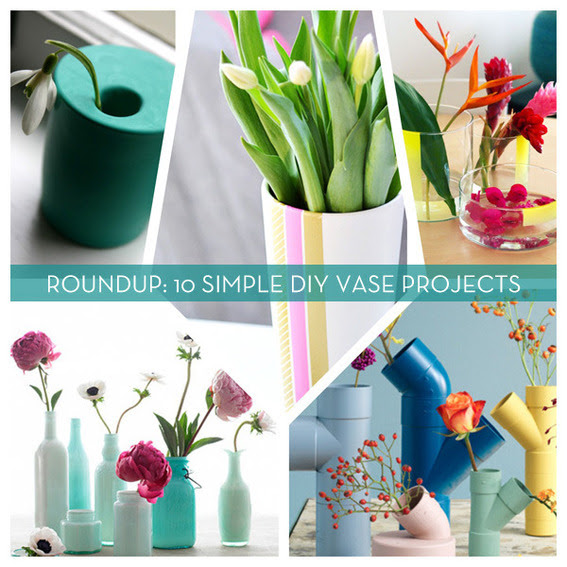 Roundup 10 Beautiful Diy Flower Vase Projects Curbly